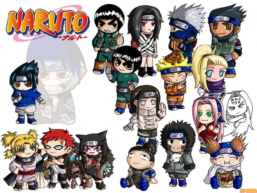 Personnages Naruto